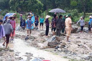 Lũ quét làm 4 người chết và mất tích ở Thanh Hóa