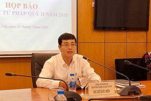 Bộ Tư pháp nói về việc không bổ nhiệm hiệu trưởng ĐH Luật