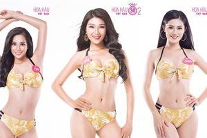 Hoa hậu VN 2018: Dàn người đẹp vòng ba gần 1 mét