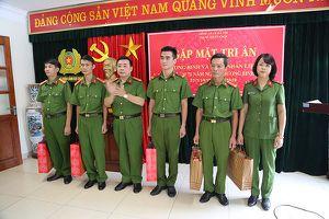 Trung đoàn Cảnh sát cơ động gặp mặt tri ân thương binh, thân nhân liệt sỹ