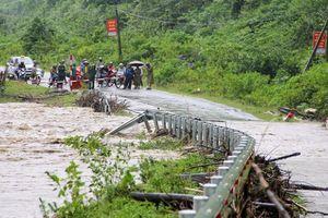 Hạ tầng giao thông Nghệ An, Hà Tĩnh thiệt hại nặng do bão số 3