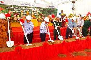 Quảng Bình: Khởi động xây dựng đền thờ liệt sĩ khu vực trọng điểm ATP