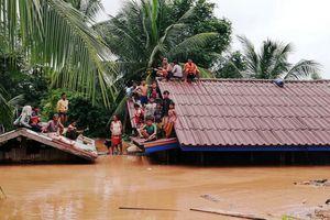Singapore ,Thái Lan chuẩn bị điều lực lượng hỗ trợ Lào khắc phục hậu quả vỡ đập