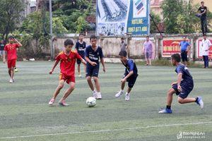 Nghi Phú vô địch Giải bóng đá thiếu niên TP Vinh năm 2018