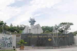 Tháng 7 ở Nghĩa trang liệt sỹ quốc gia Đường 9