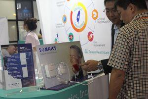 Nhiều thiết bị y tế 'độc, lạ' xuất hiện tại Hội chợ Taiwan Expo 2018