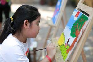 Phát động Cuộc thi 'Em vẽ đất nước Ucraina'
