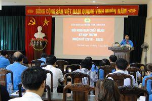 LĐLĐ tỉnh Thái Bình thông qua quy chế làm việc và phân công nhiệm vụ BCH khóa mới