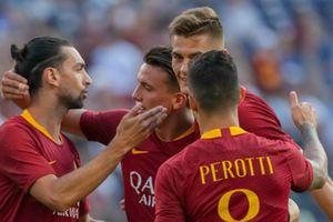 AS Roma ngược dòng giành chiến thắng đậm trước Barcelona