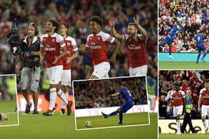 Morata tệ hại, Chelsea thất bại sau loạt đá luân lưu trước Arsenal