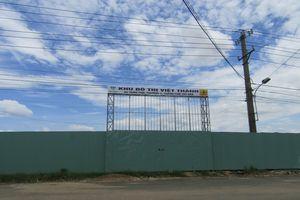 Phú Yên: Đất bị thu hồi, Công ty CP Việt Thành vẫn treo bảng thông tin dự án Khu đô thị Việt Thành