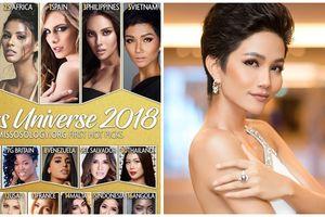 Miss Universe 2018: H'Hen Niê lọt top 5 người đẹp được bình chọn sẽ đăng quang