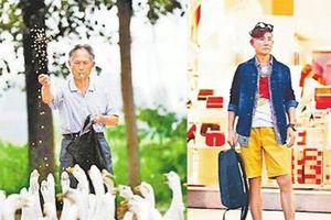 Gu ăn mặc cực chất của soái ca 71 tuổi