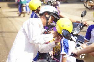 AIP giúp học sinh Gia Lai đến trường an toàn