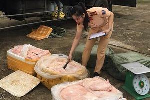 Thanh Hóa: Bắt giữ 2,5 tấn thịt lợn thối chuẩn bị lên bàn nhậu