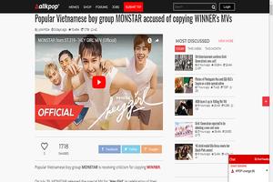 Monstar bị truyền thông K-pop tố đạo nhạc trong MV mới