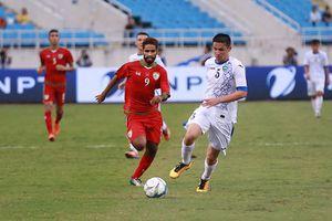 Uzbekistan chia điểm trước Oman: Cơ hội cho thầy trò ông Park