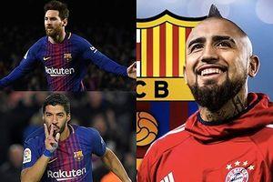 Đội hình 'công cường thủ chắc' của Barca khi có Arturo Vidal
