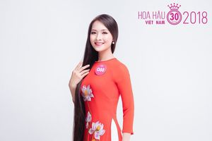 Kinh ngạc trước mái tóc dài 1m4 của người đẹp Hoa hậu Việt Nam-2018