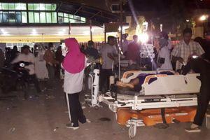 82 người thiệt mạng trong vụ động đất 7 độ ở Indonesia