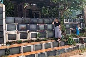 Ngôi nhà sử dụng hàng rào từ tivi cũ ở Việt Nam lên sóng báo nước ngoài