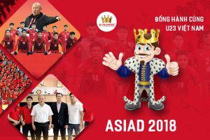 Kingsport tiếp tục đồng hành cùng U.23 Việt Nam làm nên kỳ tích ở ASIAD
