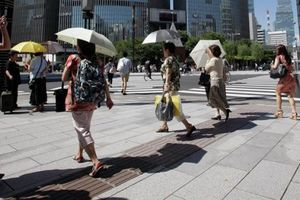 Đợt nắng nóng kỷ lục ở Nhật Bản khiến 138 người tử vong