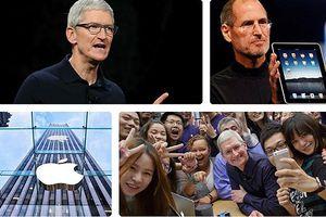 Xem cách CEO Tim Cook đưa Apple thành công ty nghìn tỷ USD đầu tiên