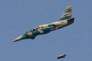 Không quân Syria dội bom phá hủy đoàn xe lớn của IS ở Al-Suwayda