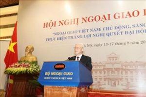 Tiếp tục thể hiện trí tuệ, bản lĩnh, đạo đức và cốt cách của nền ngoại giao thời đại Hồ Chí Minh (*)
