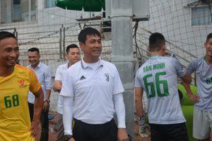 HLV Nguyễn Hữu Thắng bất ngờ xuất hiện tại Giải Bóng đá tranh cúp Báo Công an TP Đà Nẵng