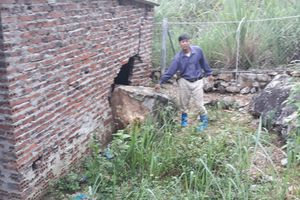 Thanh Hóa: Công ty Xi măng Long Sơn khai thác đá làm nứt nhà, sập trang trại của dân