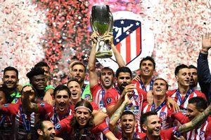 Lật đổ Real Madrid, Atletico đoạt Siêu cúp châu Âu