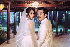Cộng đồng mạng xôn xao thông tin Nhã Phương – Trường Giang cưới vội vì bầu 3 tháng