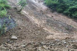 Sơn La: Ảnh hưởng bão số 4 gây sạt lở đất đá, tỉnh lộ 110 bị tê liệt