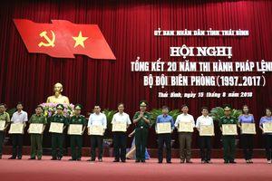 Quan tâm chăm lo xây dựng BĐBP Thái Bình vững mạnh về mọi mặt