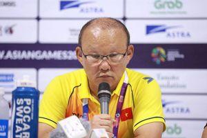 HLV Park Hang Seo: 'Chúng tôi luôn chuẩn bị tốt và thi đấu hết mình'