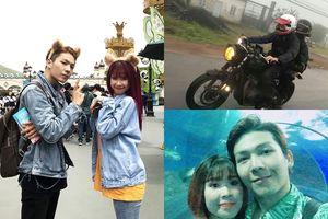 Ít cặp vợ chồng nào trong showbiz Việt mê phượt, thích đi du lịch 'bụi' như vợ chồng Khởi My - Kevil Khánh