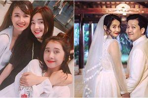 Chị và em gái không có mặt vào ngày đính hôn, có vẻ như đám cưới Nhã Phương - Trường Giang chỉ là 'tin vịt'