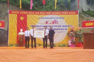 Lào Cai: Xã Phú Nhuận tổ chức đón Bằng di tích lịch sử văn hóa Đền Cô Ba