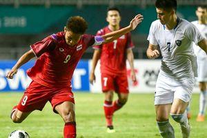 Olympic Thái Lan thua Uzbekistan, nơm nớp lo bị loại