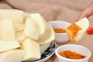Ăn củ đậu giúp tăng cường hệ miễn dịch