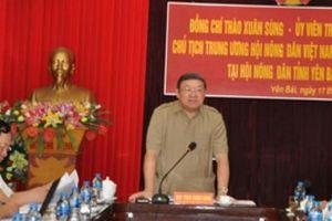 Chủ tịch Hội NDVN Thào Xuân Sùng: 'Cầm tay chỉ việc' giúp ND làm kinh tế