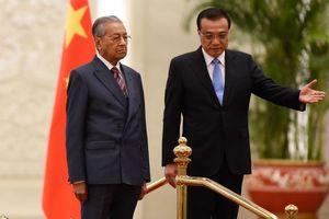 Sang Bắc Kinh, Thủ tướng Malaysia treo loạt dự án tỷ USD với Trung Quốc