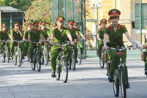Thừa Thiên - Huế: Hàng trăm xe đạp cảnh sát 'đắp chiếu'