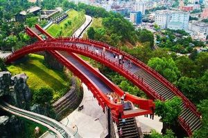 Ở Quảng Ninh có một cây cầu 'nổi như cồn' hút nghìn bạn trẻ check-in
