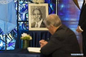Liên hợp quốc tổ chức lễ tưởng niệm cố Tổng Thư ký Kofi Annan