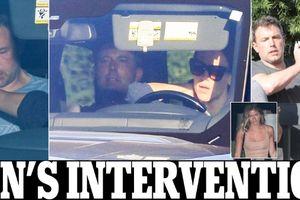 Ben Affleck bị vợ cũ ép đi cai nghiện chỉ sau vài ngày hẹn hò người mẫu playboy nóng bỏng