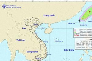 Khu vực Bắc biển Đông hình thành áp thấp nhiệt đới, cả nước có mưa giông gió giật mạnh