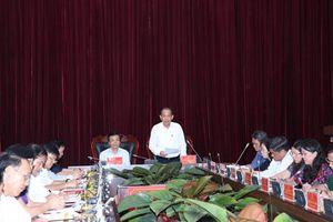 Phó Thủ tướng Thường trực làm việc tại tỉnh Điện Biên về tình hình di dân